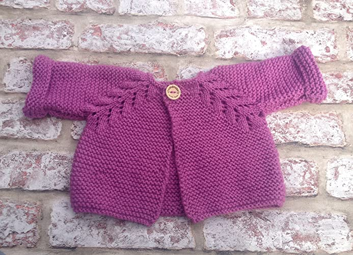 Next Baby Girls Red Nordic Knitted Cotton Long Sleeve Dress Age 0-3 months New