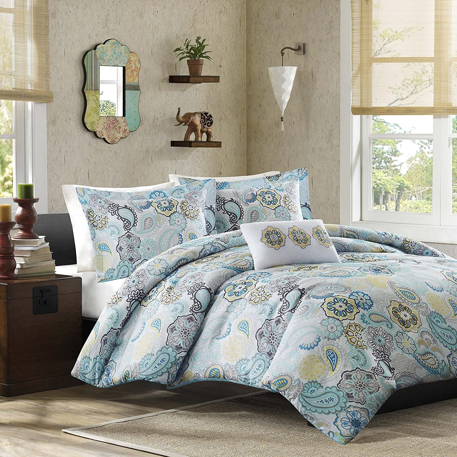 Mi-Zone Tamil Comforter Set, Full/Queen