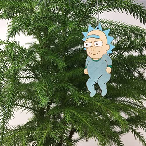 baby rick sanchez christmas ornament rick and morty baby rick stocking stuffer