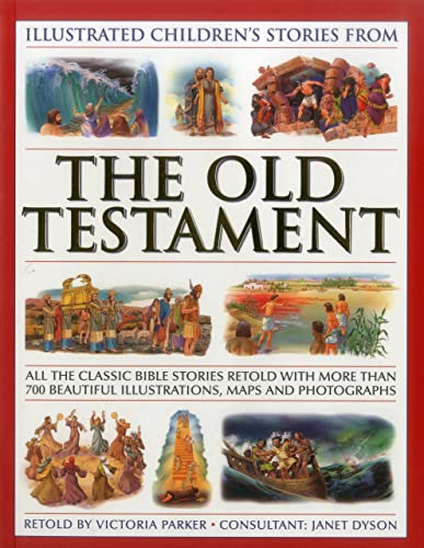 Illustrated Children's Stories from the Old Testament (Bible)
