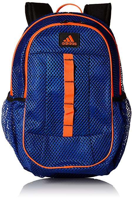 Amazon.com  adidas Hermosa Mesh Backpack Backpack Power Blue Solar ...