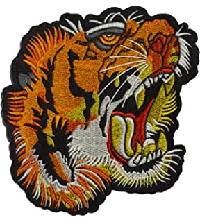 Amazon.com: Tiger Sunglasses Patch Embroidered Iron-On ...