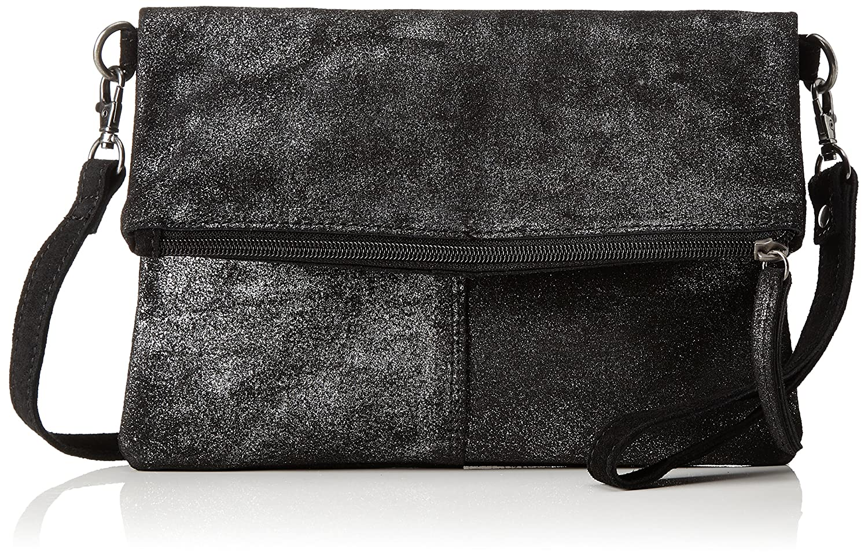 s.Oliver (Bags Damen 39.711.94.8030 Clutch, (Black/Schwarz), 2x18x25 cm s.Oliver (Bags)