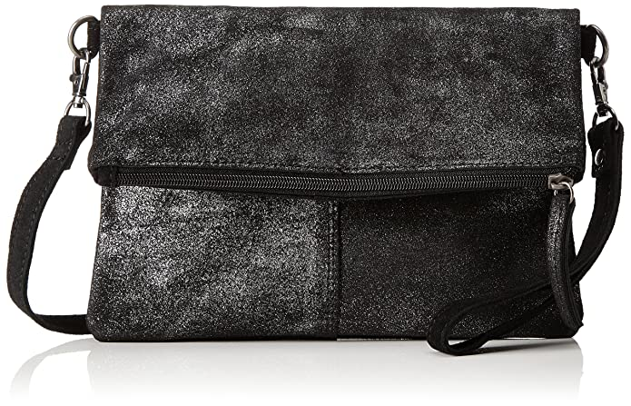 s.Oliver (Bags) 39.711.94.8030, Womens Clutch, Schwarz (Black/schwarz), 2x18x25 cm (B x H T): Handbags: Amazon.com