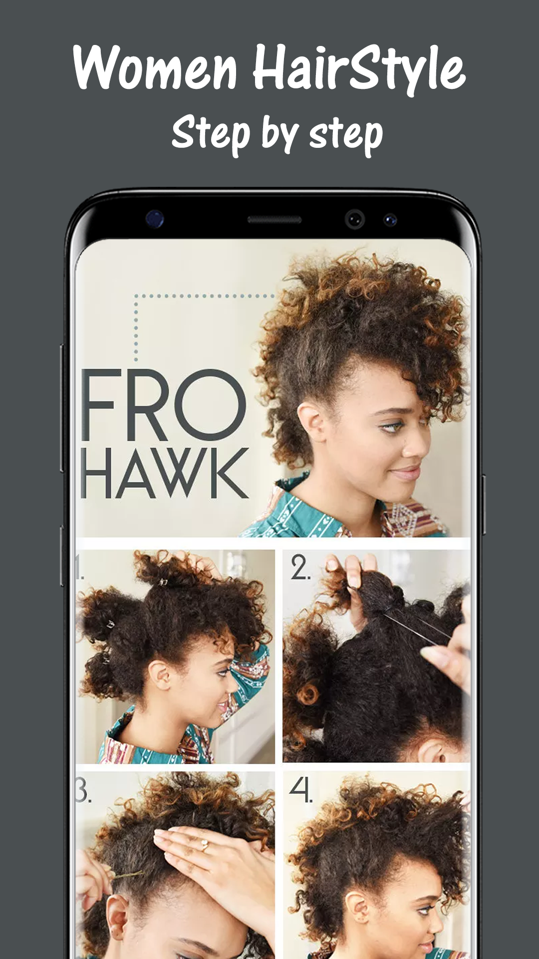 Amazon.com: Easy Hairstyles Step by Step: Appstore for Android