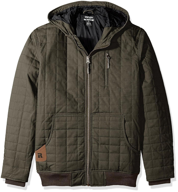 Wrangler RIGGS WORKWEAR Mens Big and Tall Tradesman Hooded Jacket Wrangler Men/'s Sportswear 3W179-BT