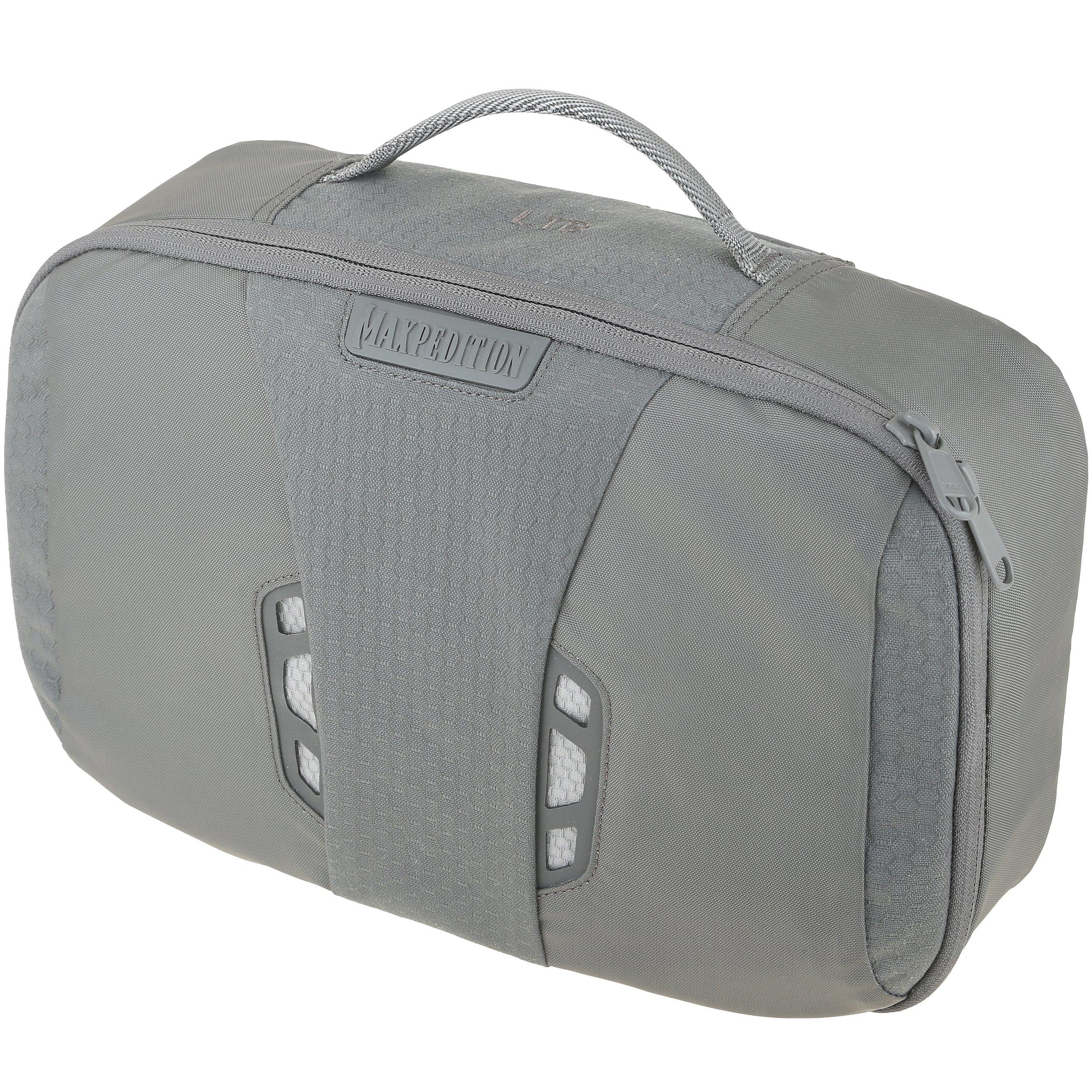 MXLTBGRY-BRK Lightweight Toiletry Bag Gray