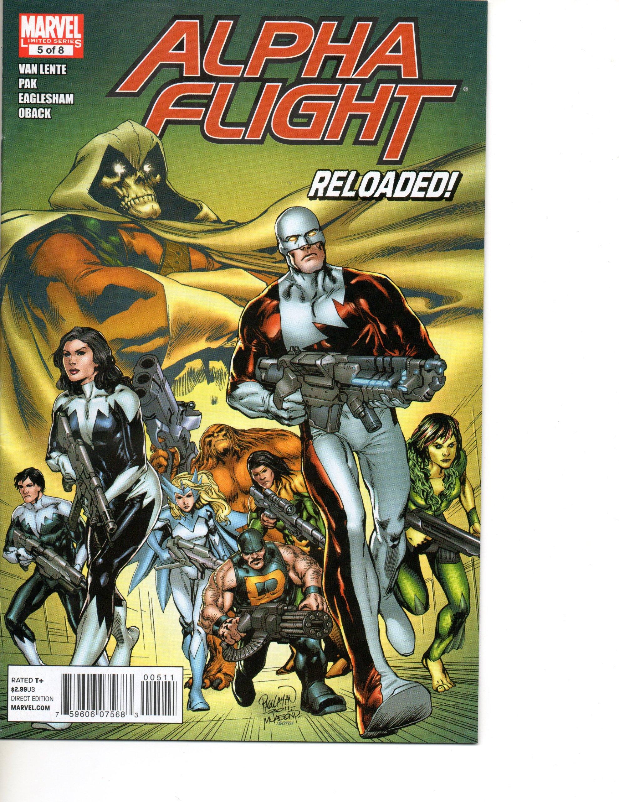 Read Online Alpha Flight #5 (Reloaded: The Last Refuge, Vol. 1) ebook