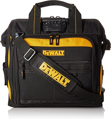 DEWALT DGL573 Lighted Technician s Tool Bag, 41 Pocket