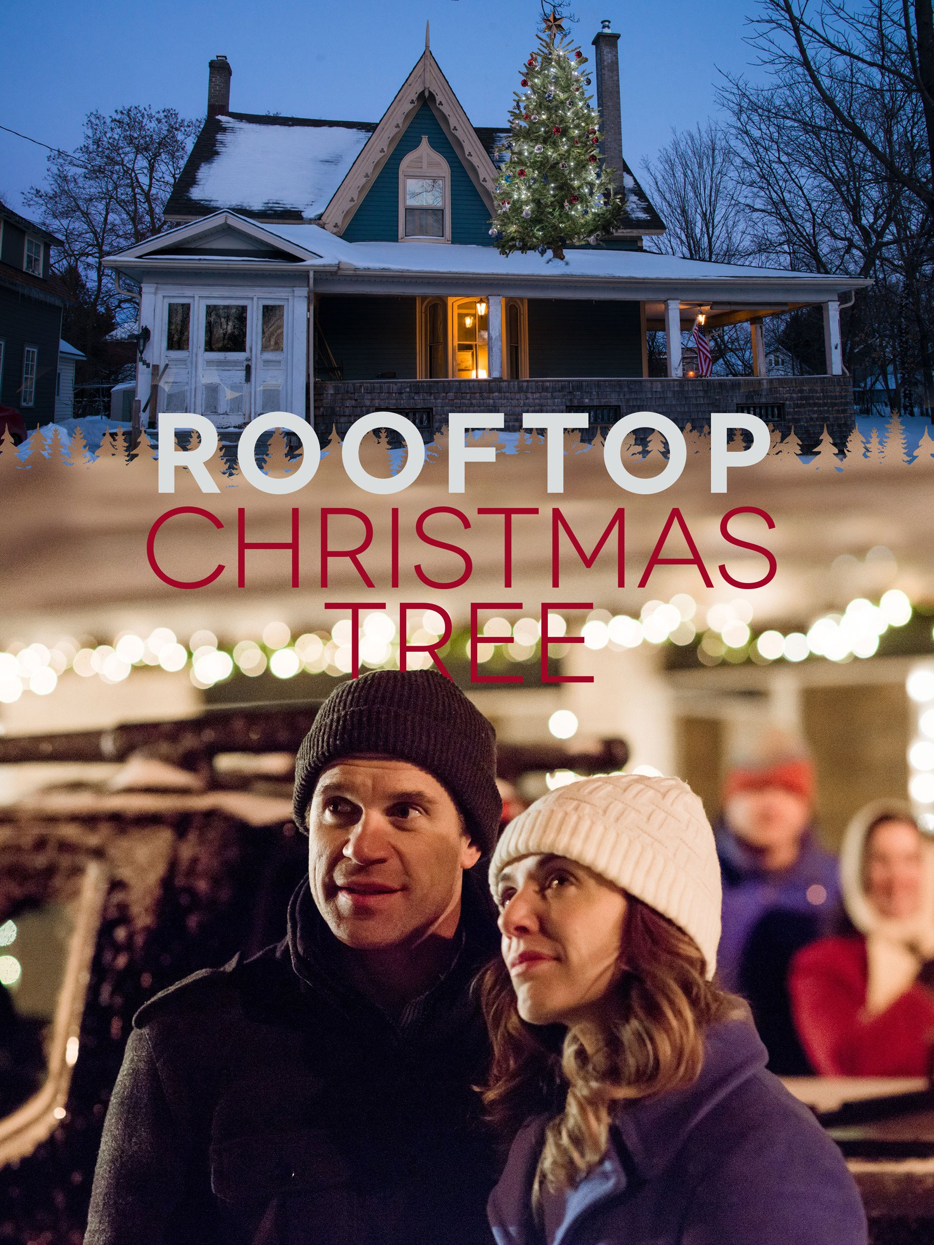 The Rooftop Christmas Tree >> Amazon Com The Rooftop Christmas Tree Michelle Morgan Tim Reid