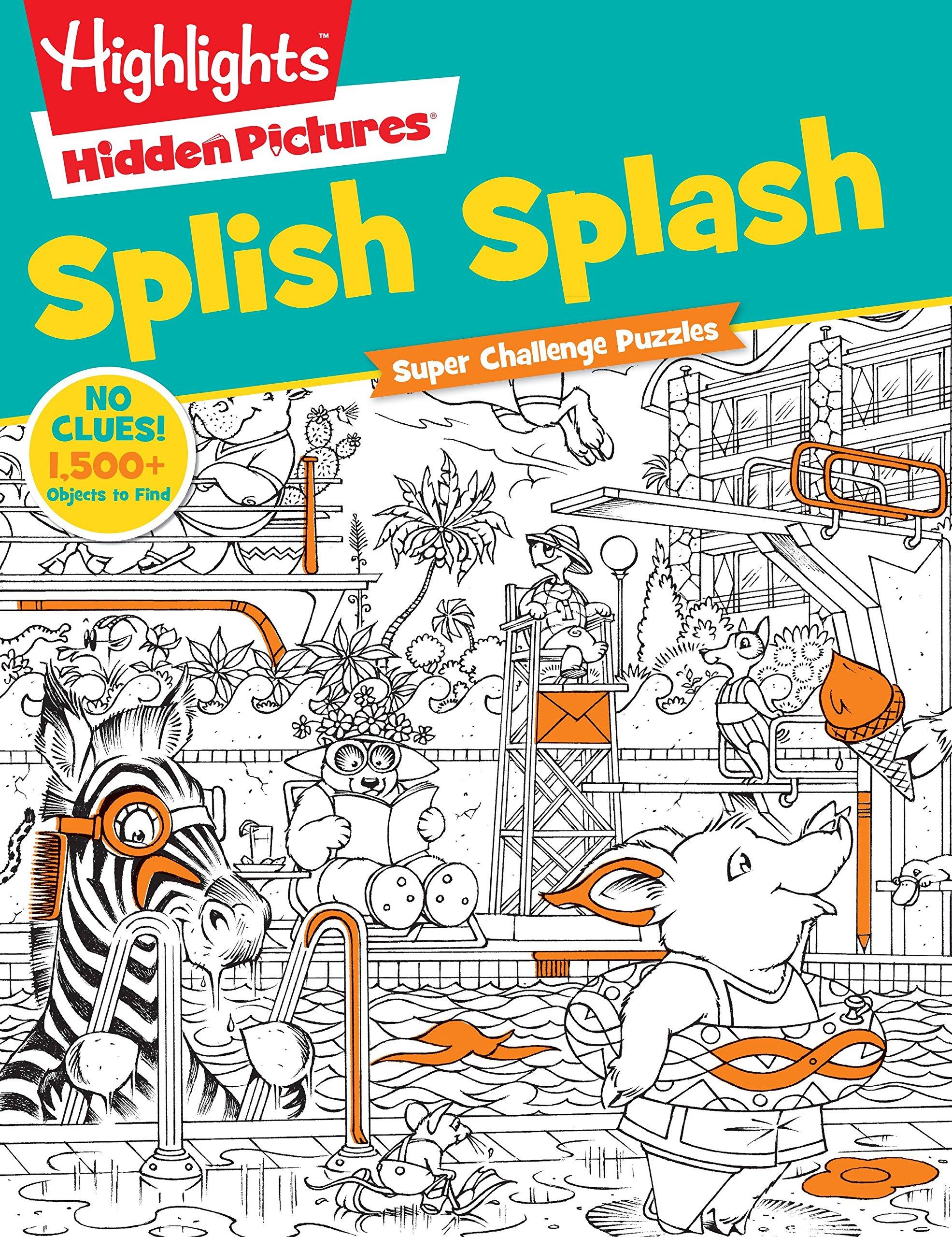 Splish Splash Highlightstm Super Challenge Hidden Pictures