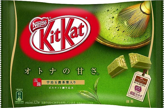 Amazon | ネスレ日本 キットカット ミニ オトナの甘さ 抹茶 12枚×12袋 ...