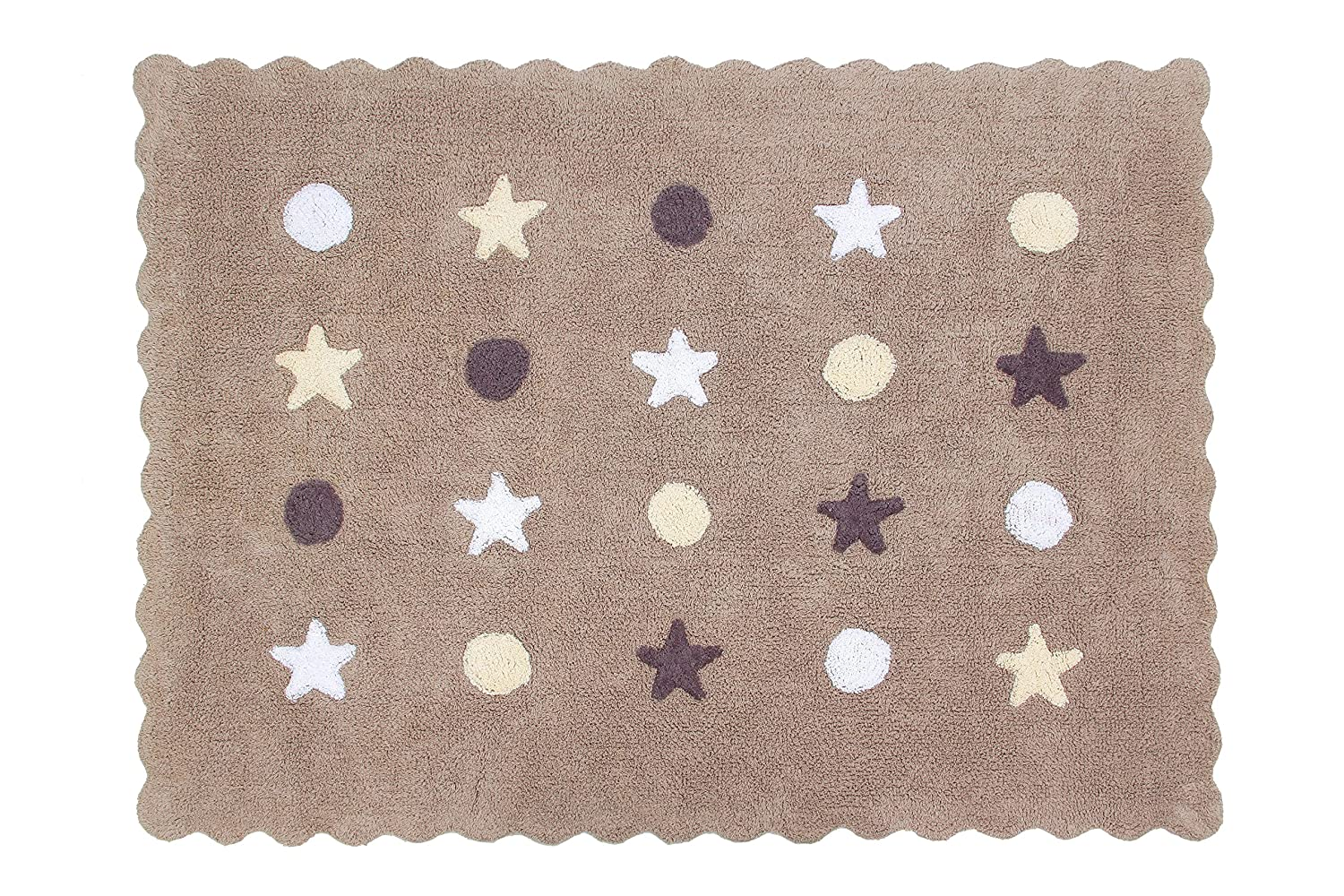 Happy Decor Kids HDK-226 color lino Alfombra lavable