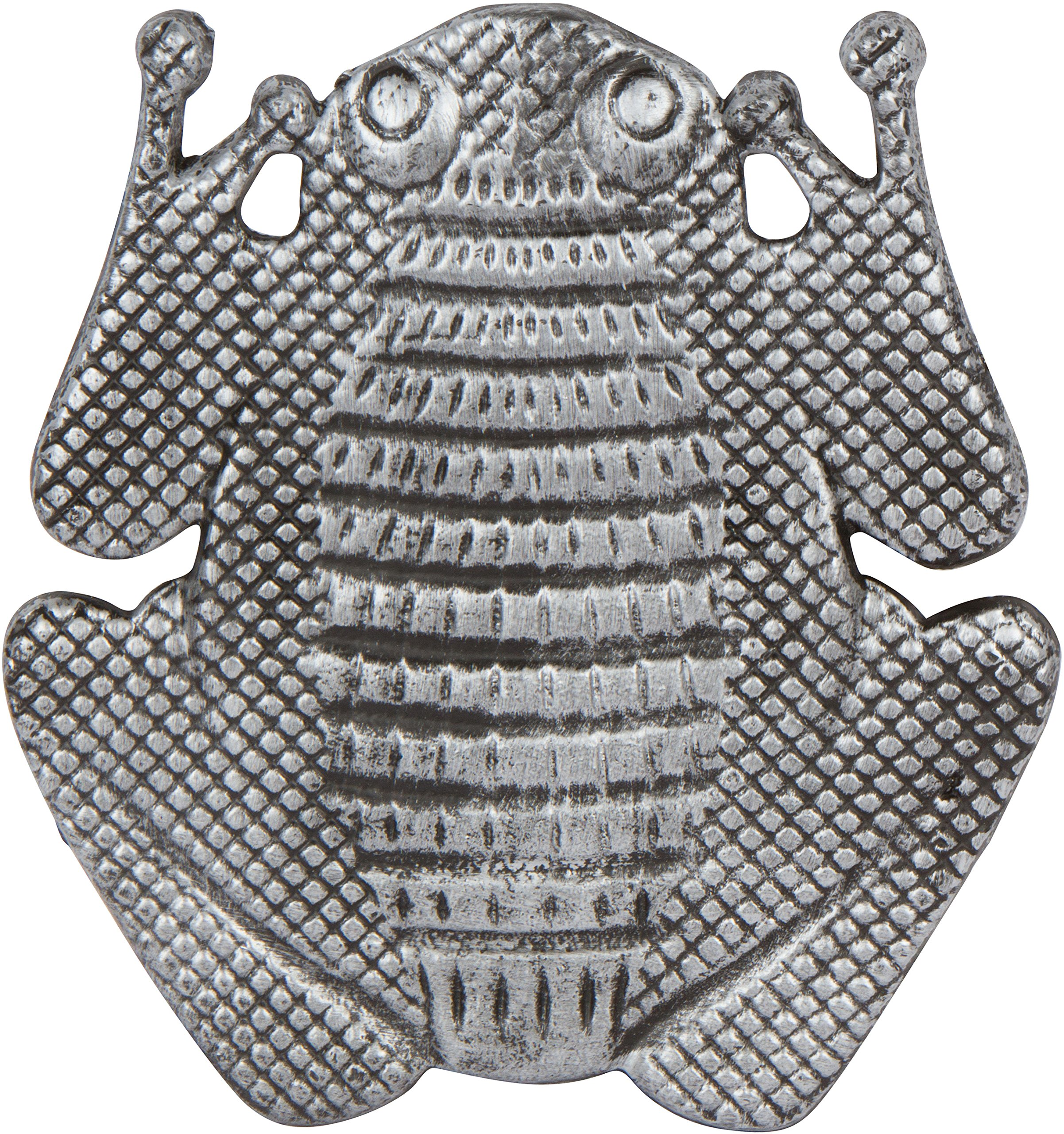 11'' Cast Iron Frog Garden Stepping Stone Tile by Trademark Innovations