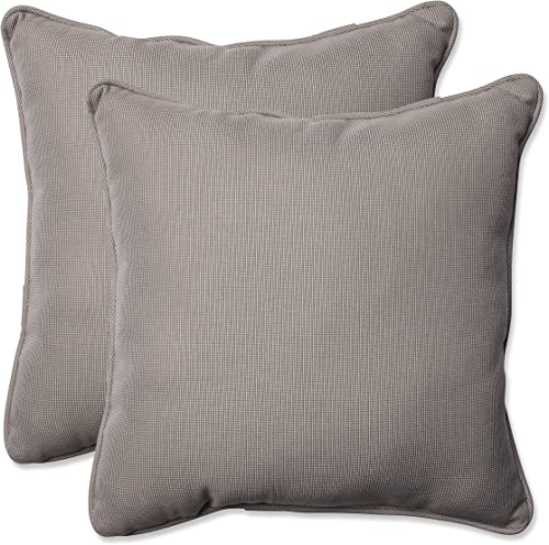 Pillow Perfect Outdoor/Indoor Tweed Throw Pillow