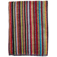 Oversized Candy Stripe Towel for Two