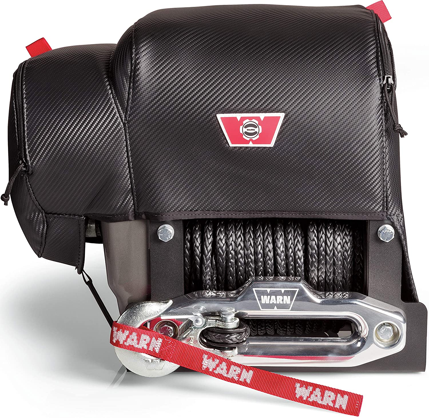WARN 102643 Stealth Series Winch Cover Fits M8274
