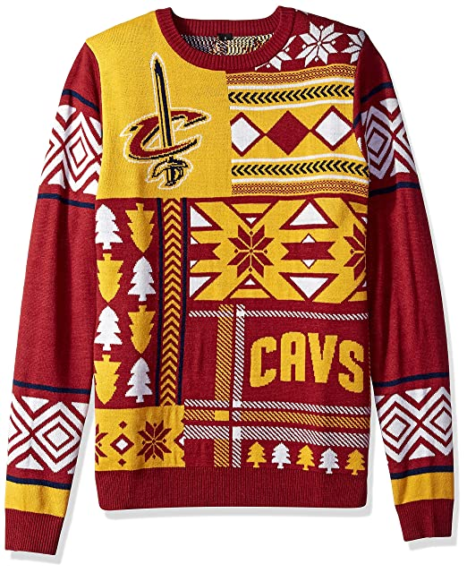 brand new ee66f 7f153 NBA Patches Ugly Sweater - Pick Team
