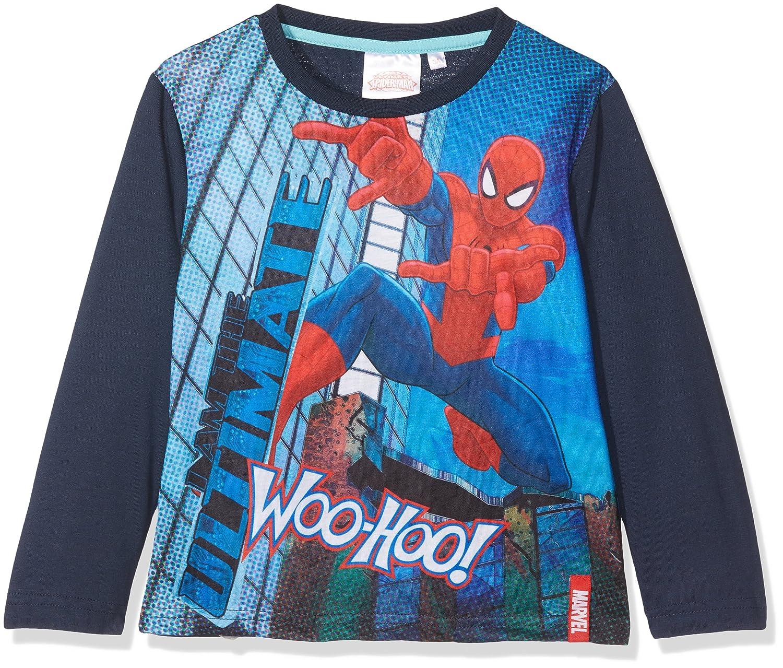 DC Comics Boy's Spiderman NYC Super Hero T-Shirt 22075
