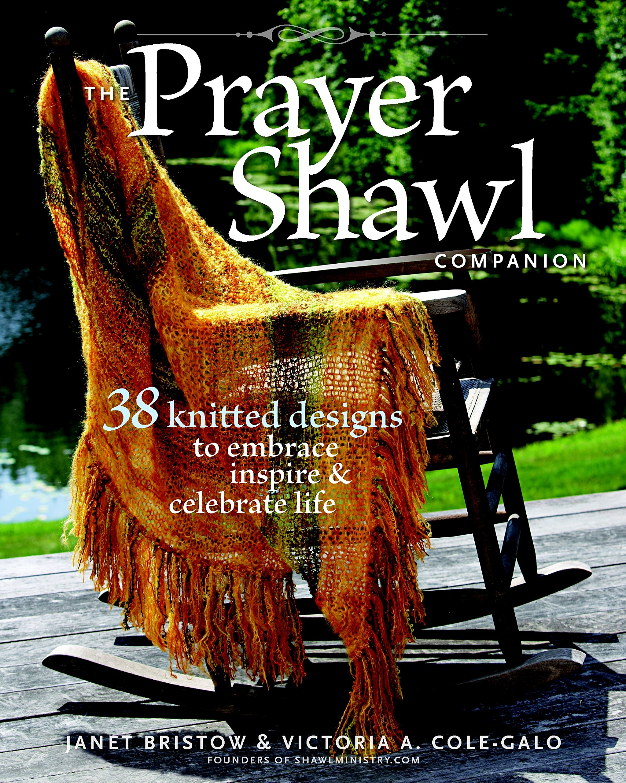 Prayer Shawl Companion Knitted Celebrate