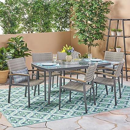 Amazon.com: Great Deal Furniture Lily Outdoor - Juego de ...