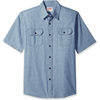 Wrangler Authentics Authentics Men's Short Sleeve Classic Woven Shirt
