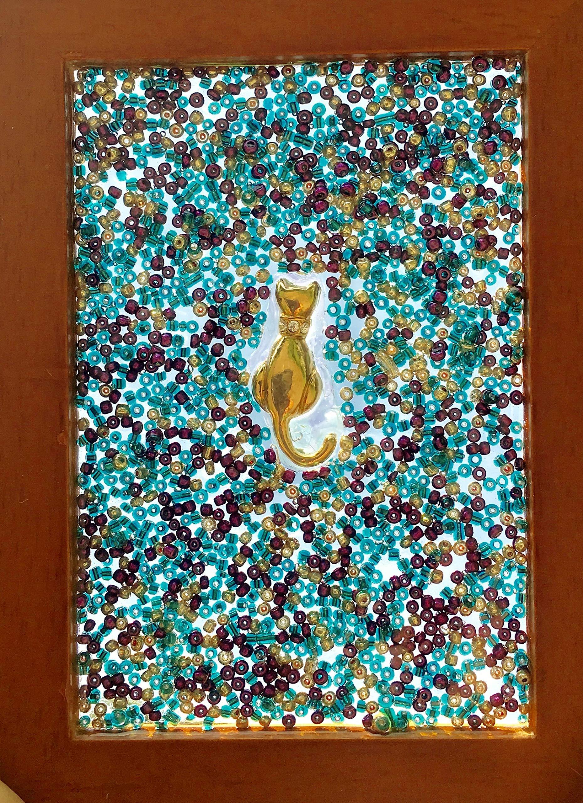 Cat Window Art Sun Catcher