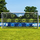 Net World Sports Forza Soccer Goal Target Sheets | Shooting Training Equipment for Strikers [9 Sizes]