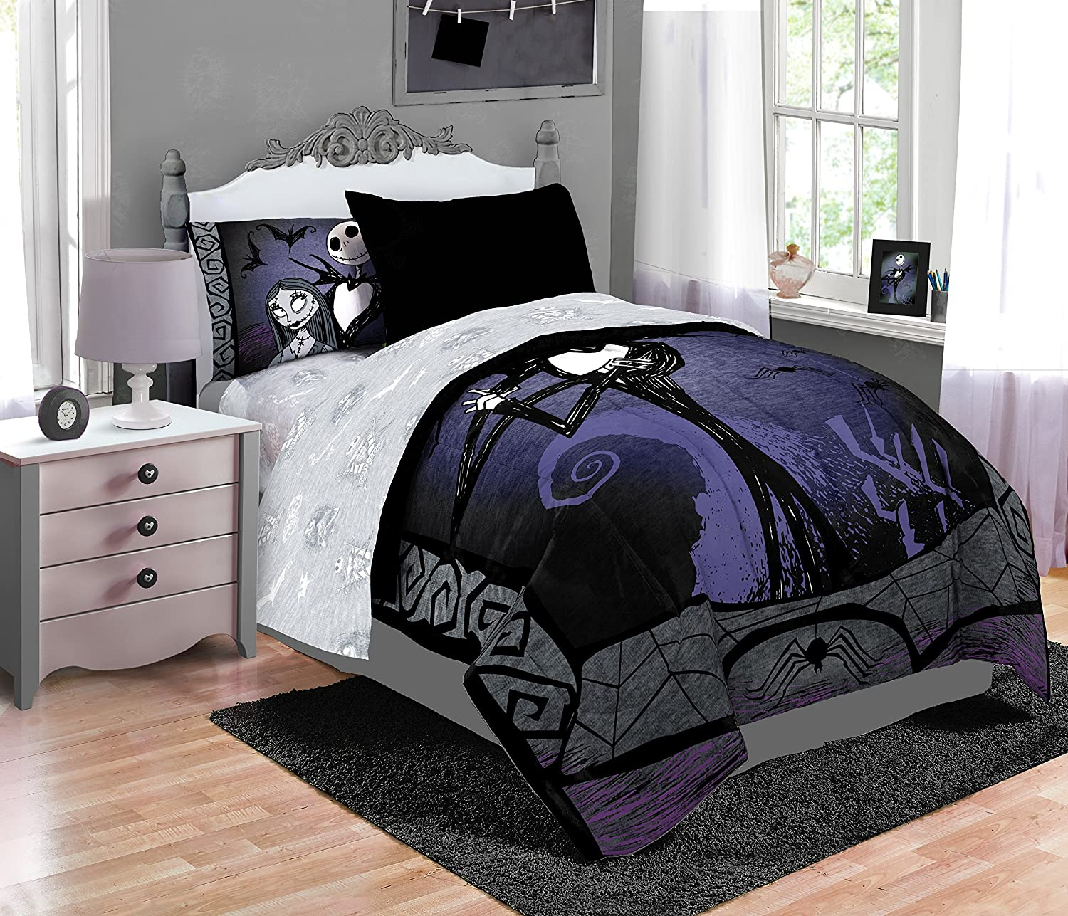 Disney Nightmare Before Christmas Meant to Be Full/Queen Comforter ...