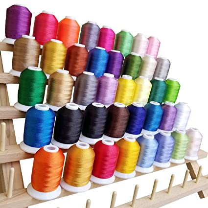Amazon Taoindustry Embroidery Thread Polyester Spools 550