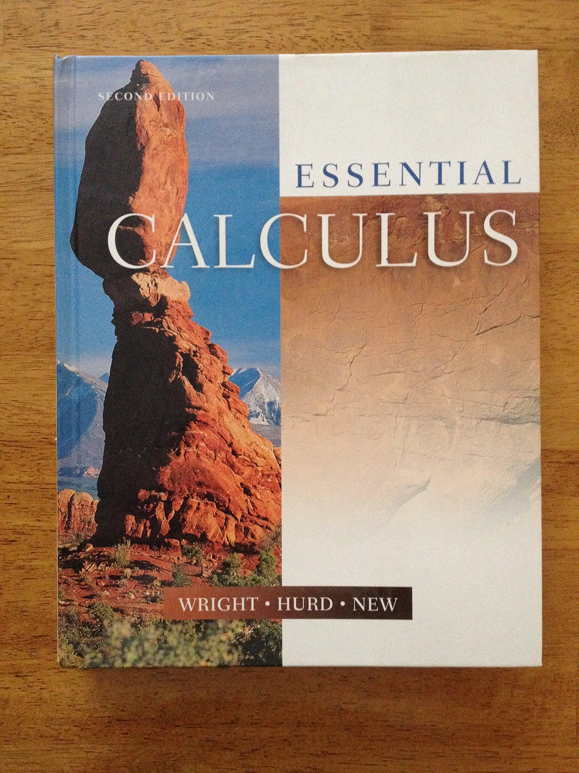 Essential Calculus Text: Wright; Hurd; New: 9780918091956: Amazon.com: Books