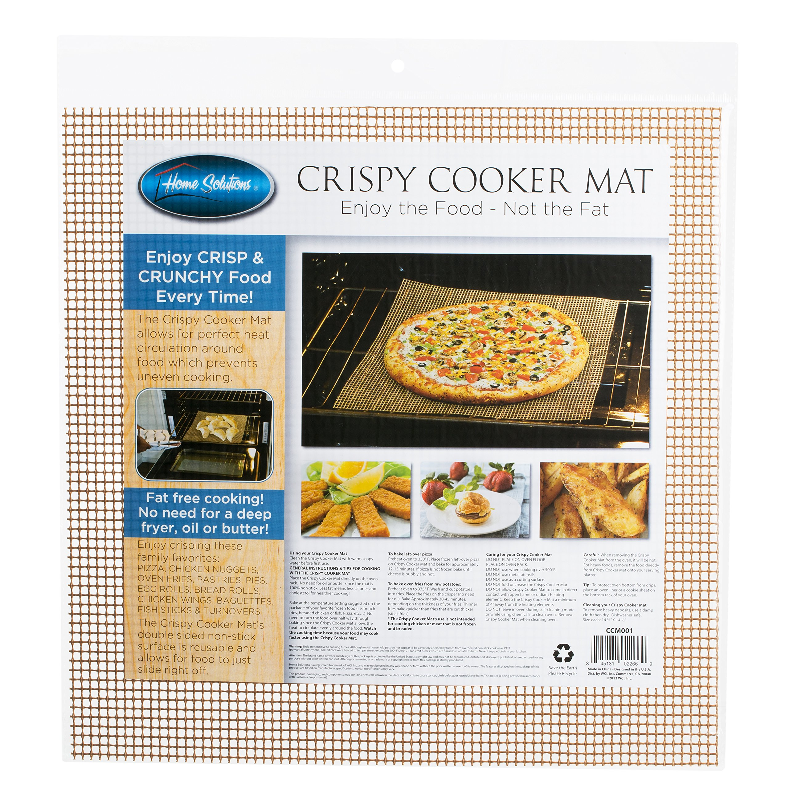 SOLUTIONS Crispy Cooker Baking Mat
