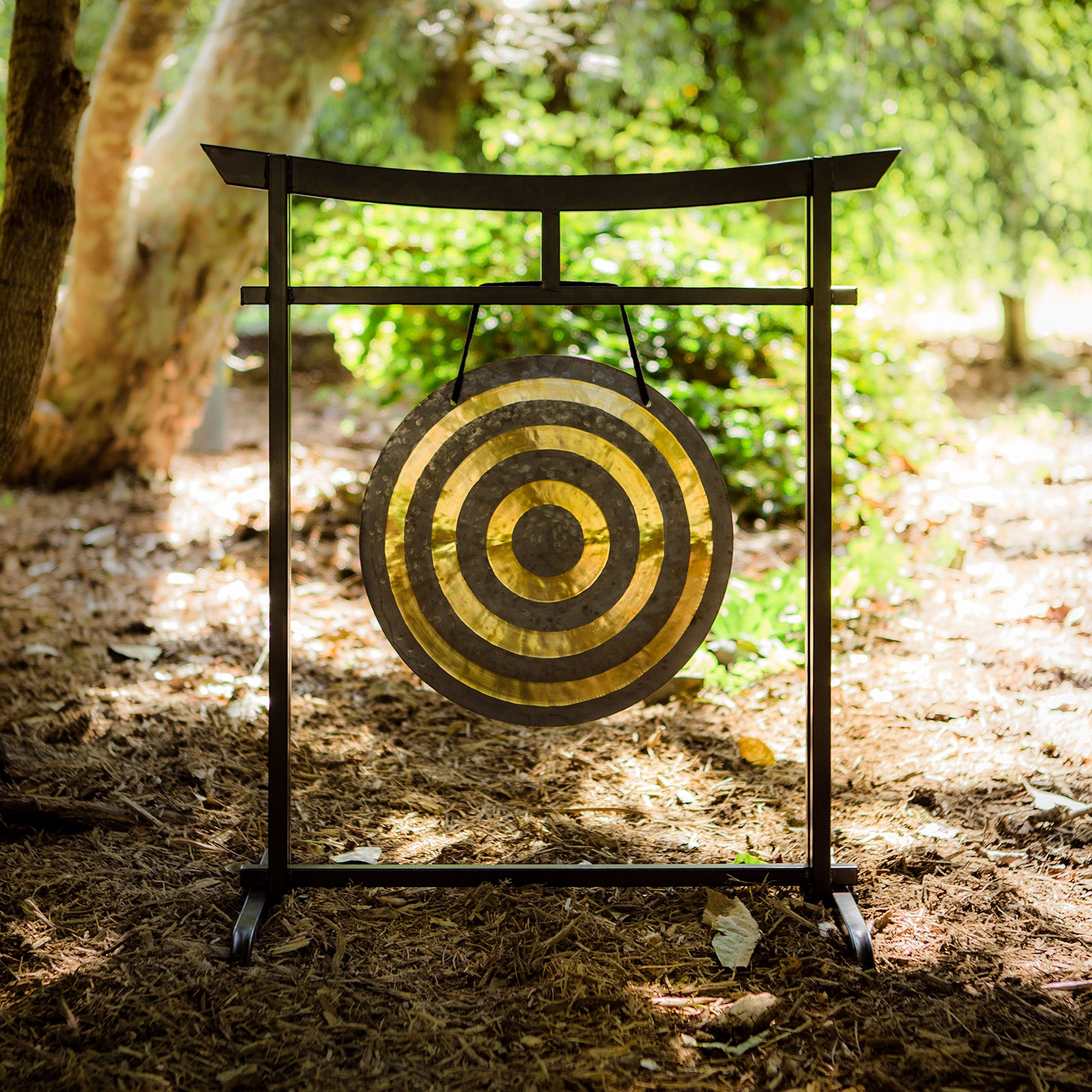 16'' to 17'' Gongs on the Sacred Space Outdoor Gong Stand
