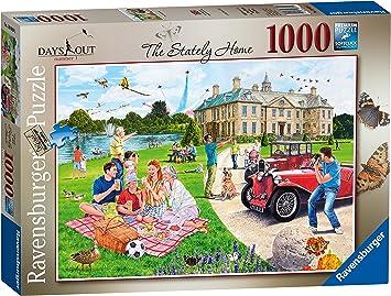 Ravensburger Days out No.1 - Puzzle de 1000 Piezas, diseño de casa de Escalada