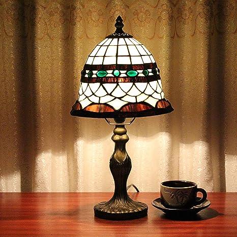 Sam@8 pulgadas lámpara de mesa hecha a mano del vidrio ...