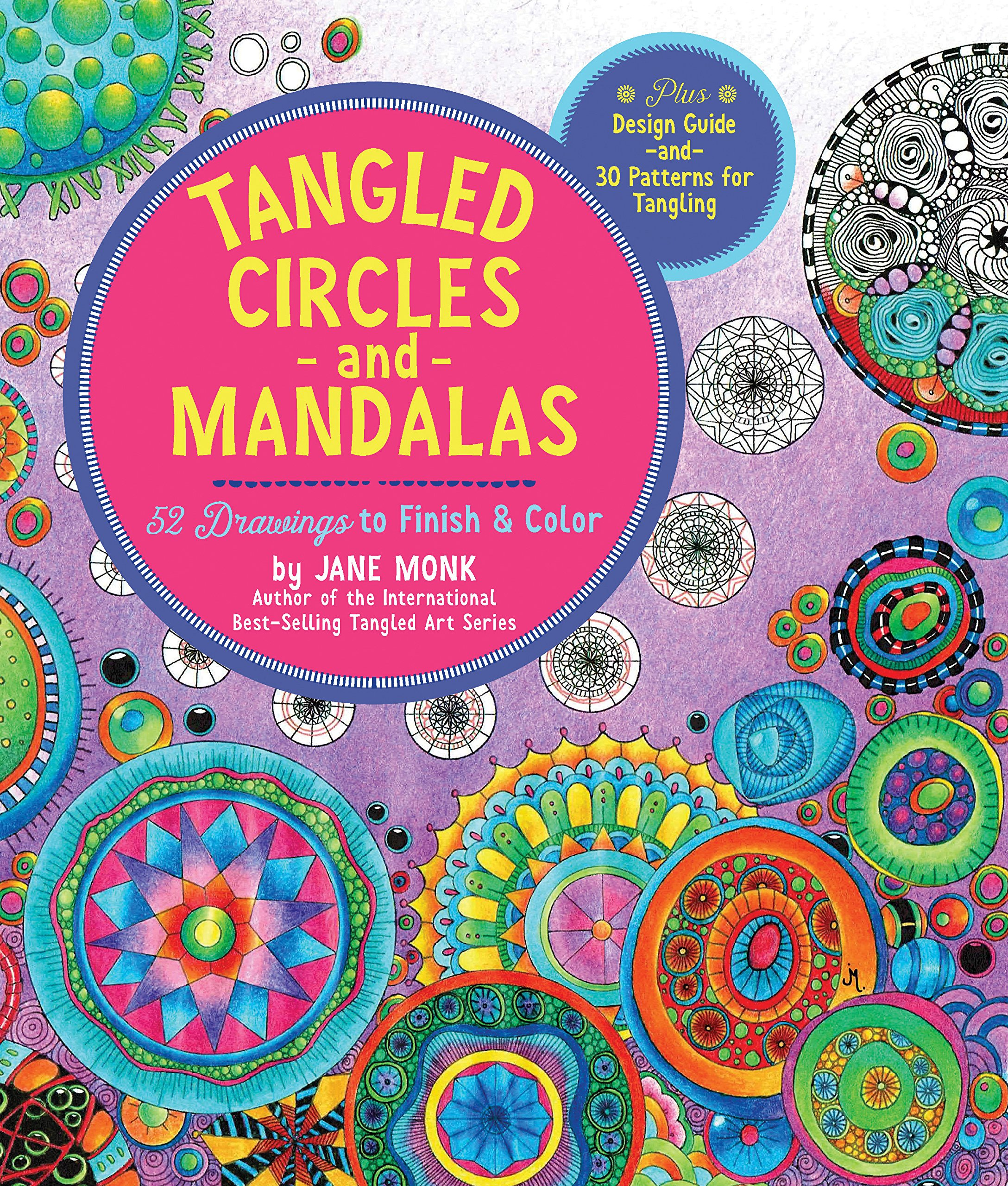 Tangled Circles Mandalas Drawings Color Plus product image