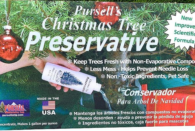 Christmas Tree Preservative.8 Oz Christmas Tree Preservative