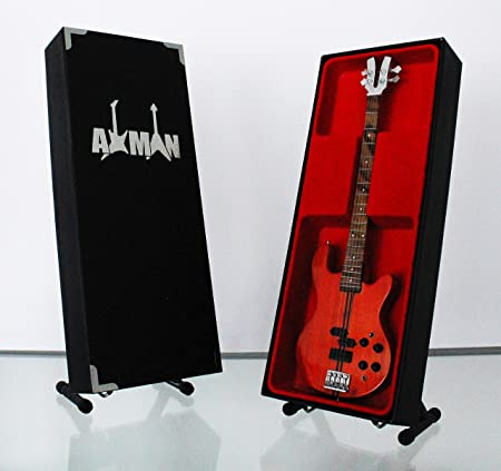 Axman Alan Lancaster (Status Quo) Kramer 350 Bass: réplica de Guitarra en Miniatura (Vendedor del Reino Unido): Amazon.es: Hogar