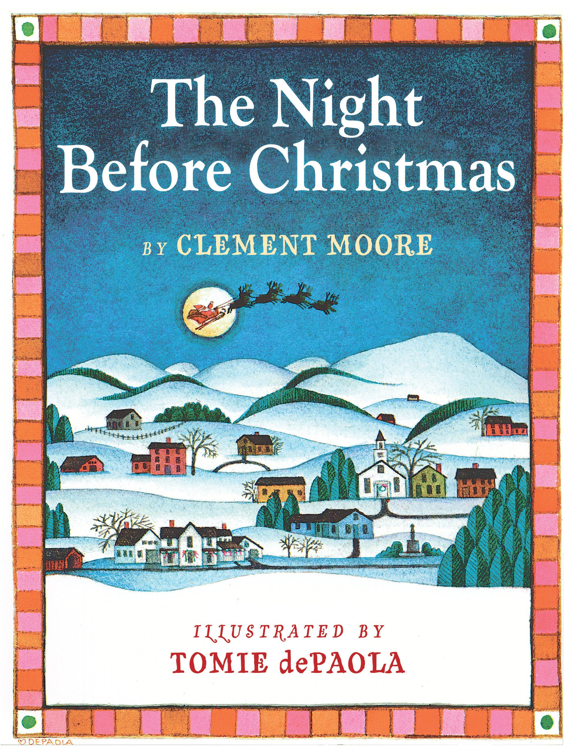 Amazon.com: The Night Before Christmas (9780823422845): Clement C ...