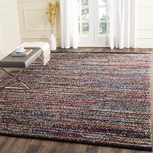 Safavieh Cape Cod Collection CAP367A Hand Woven Multicolored Jute Area Rug 4 x 6