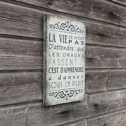 Décoration Murale Tableau Citation Tableau Sur Bois