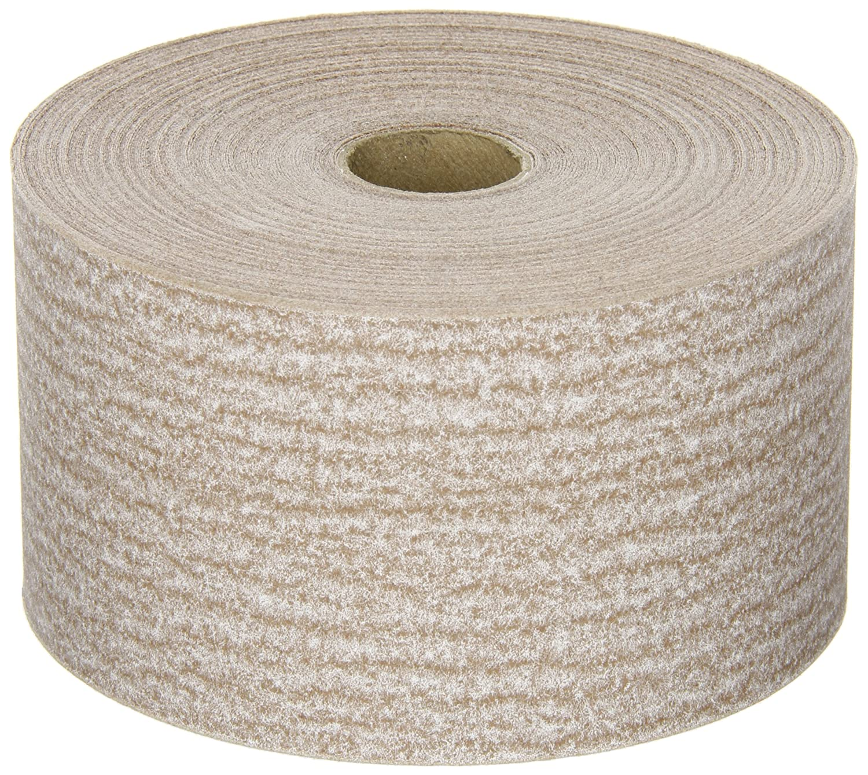 Norton A275 No-Fil Adalox Abrasive Roll, Paper Backing, Pressure Sensitive Adhesive, Aluminum Oxide, Waterproof, Roll 2-3/4' Width x 45yd Length, Grit 180 (Pack of 1) Roll 2-3/4 Width x 45yd Length St. Gobain Abrasives 66261131687