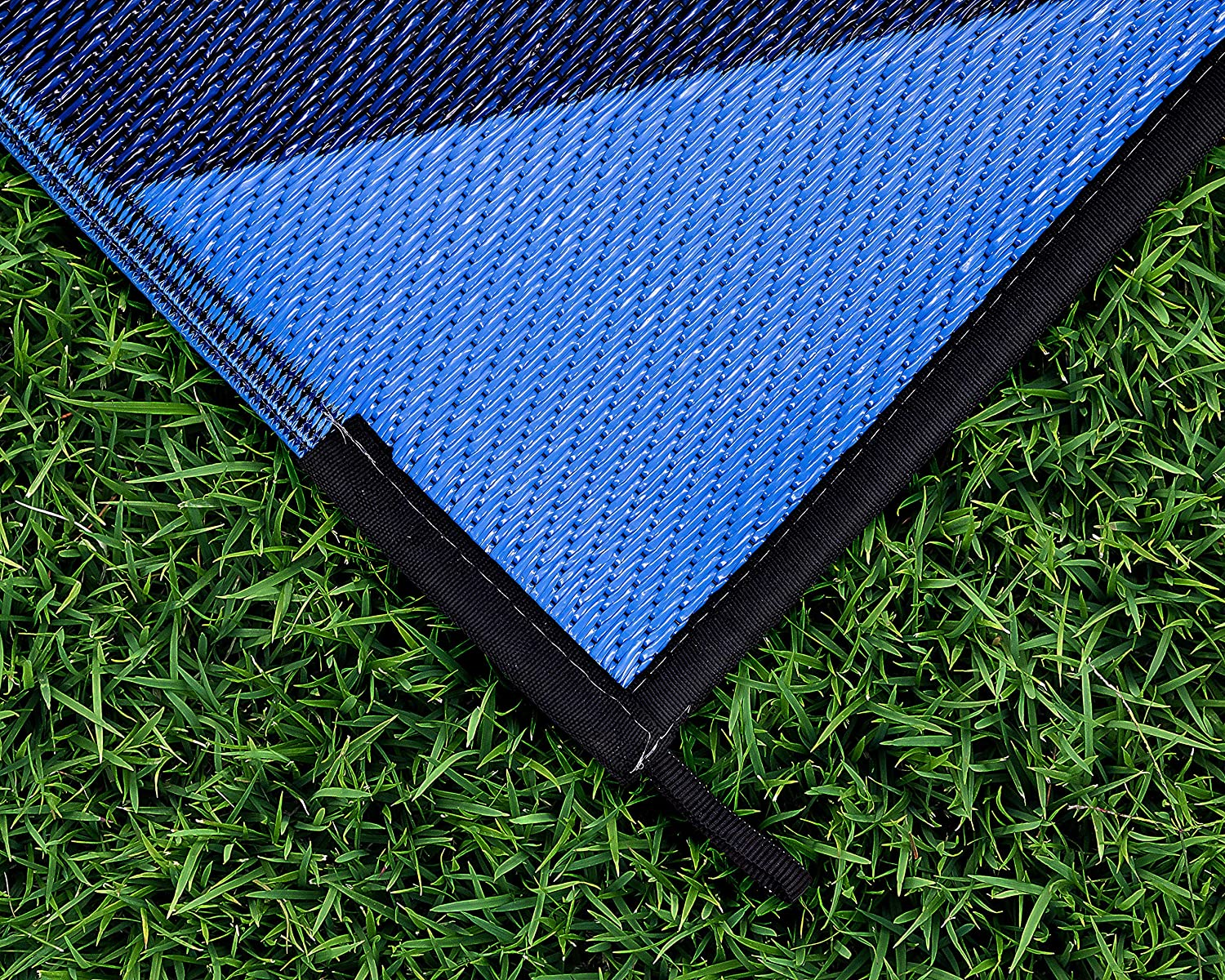 6 x 9, Brown Lattice Design Perfect for Picnics Easy to Clean Mold and Mildew Resistant and The Beach Camco Large Reversible Outdoor Patio Mat Camping 42877 Cookouts
