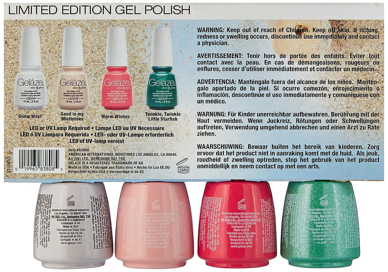 Amazon.com : China Glaze Gelaze Nail Polish Kit, Replenish : Beauty