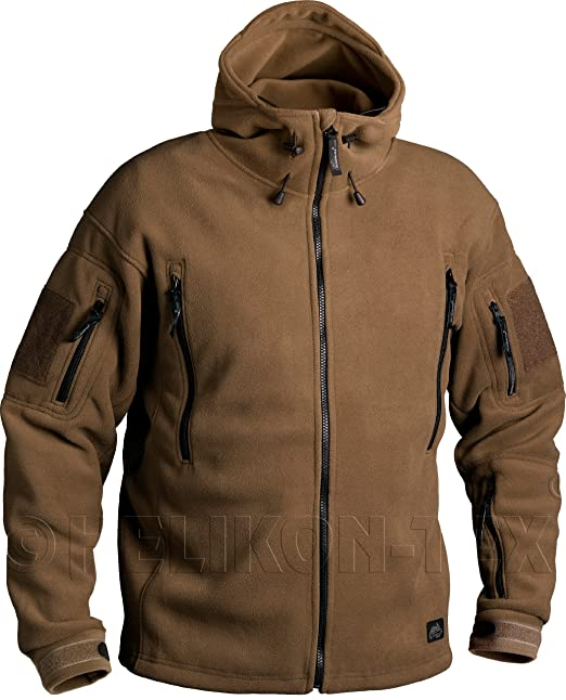 Helikon Patriot Fleece Jacket Coyote