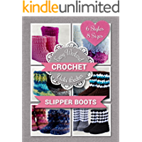 Slipper Boots (Easy Weekend Crochet Book 1) book cover