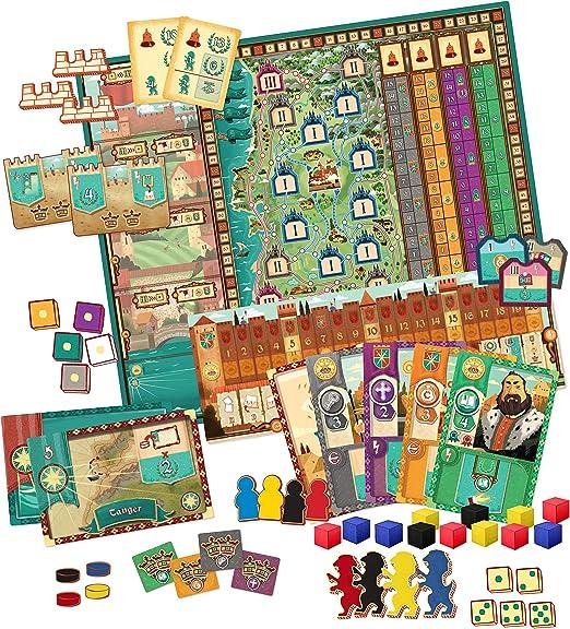 Pegasus Spiele Coimbra Estrategia Niños y Adultos - Juego de Tablero (Estrategia, Niños y Adultos, 60 min, 120 min, Niño/niña, 14 año(s)): Amazon.es: Juguetes y juegos