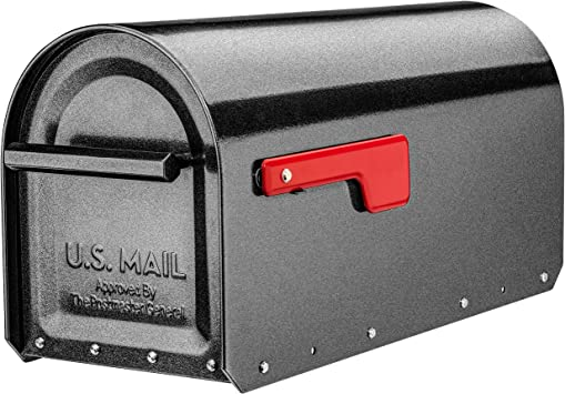 Post Mount Mailbox Postal Box Security Heavy Duty Steel Large Mailbox For Letter