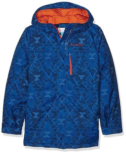 Columbia Alpine Free Fall – Chaqueta de esquí para niño Super Blue Print FR: XL