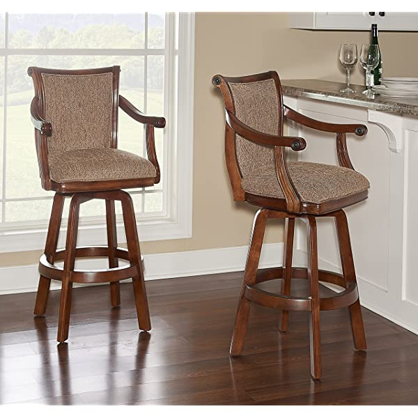 Powell Brandon Swivel Bar Stool